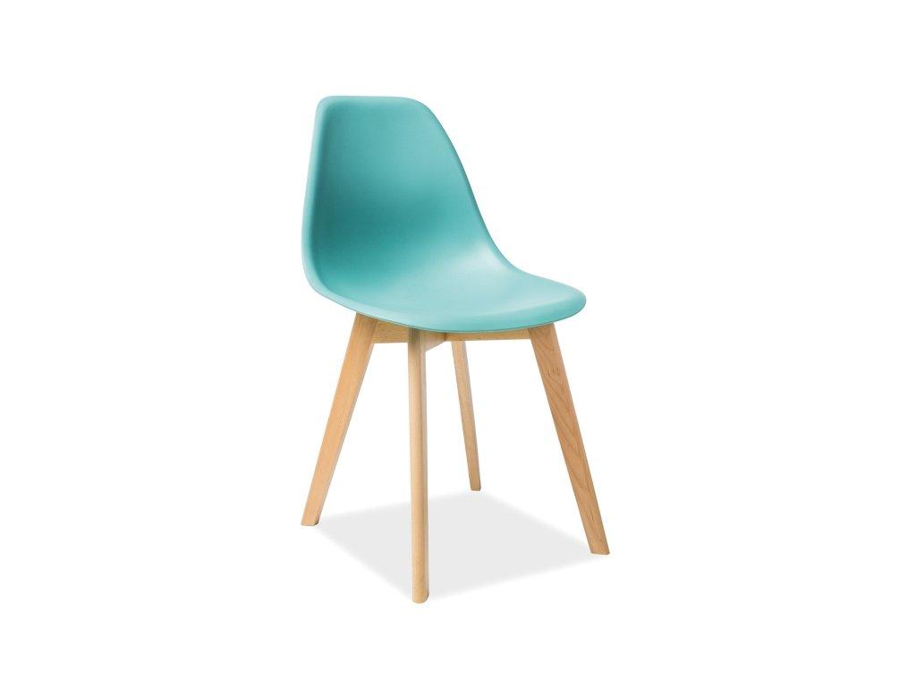 Židle, máta / buk, MORIS