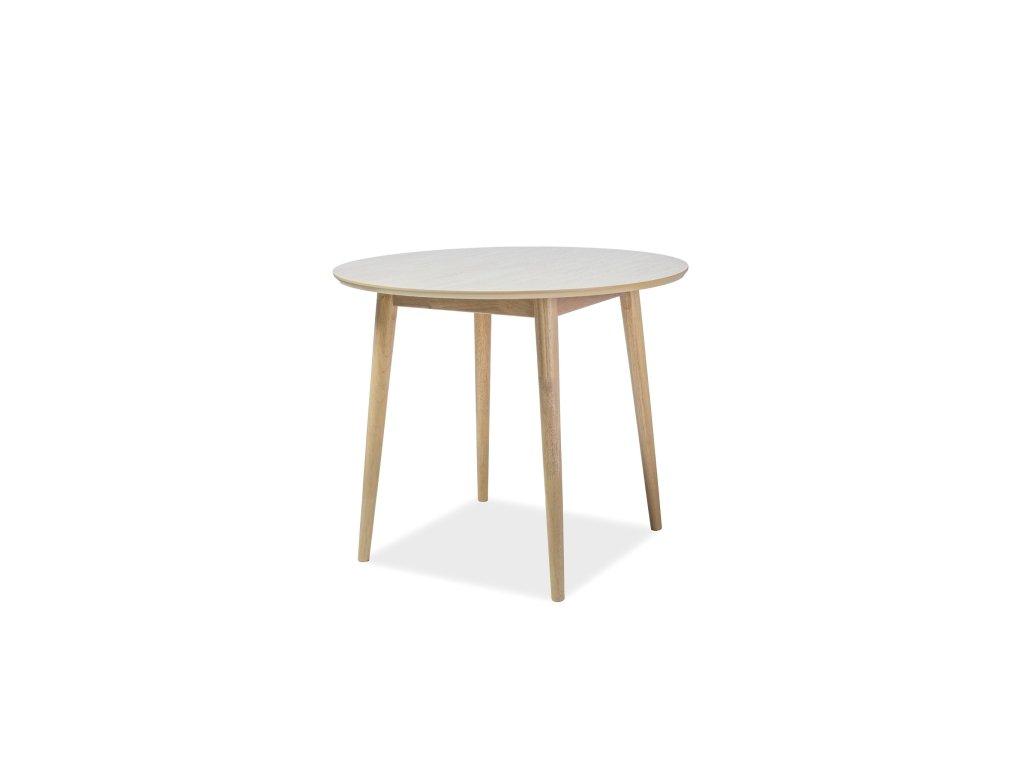 Jídelní stůl, dub medový, NELSON 90X90