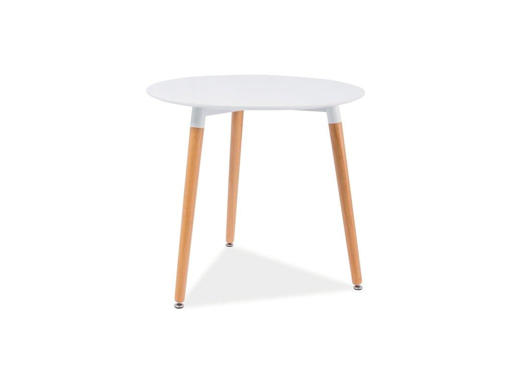 Bílý jídelní stůl NOLAN III 80X80