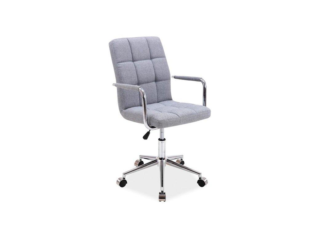 Kancelářská židle, šedá, Q-022