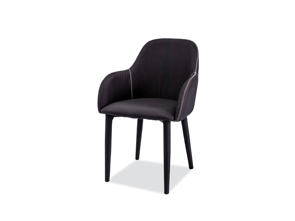 Židle, černá, OSCAR