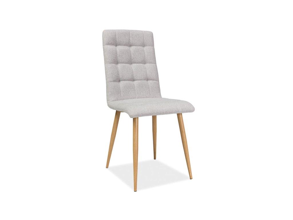 Židle, béžová / dub, OTTO