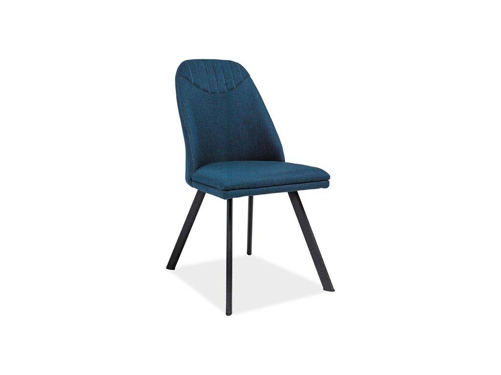 Tmavě modrá židle PABLO