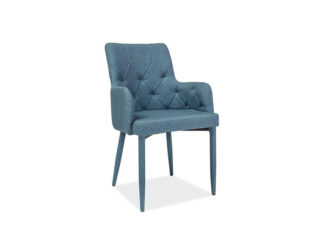 Modrá židle RICARDO