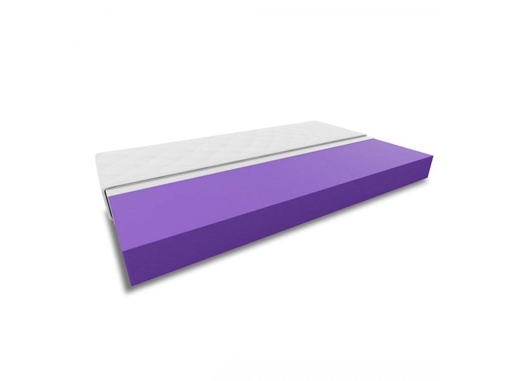 Pěnová matrace DELUXE 90x200 cm (Ochrana matrace VČETNĚ chrániče matrace)