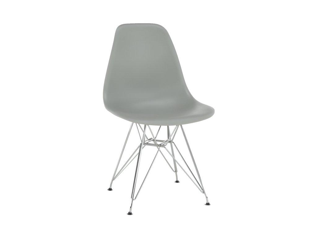 Židle, šedá, ANISA NEW