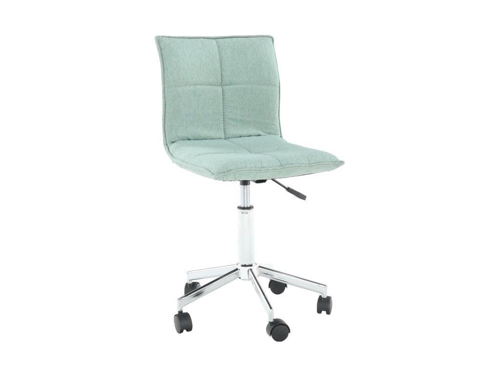 Mentolová kancelářská židle CRAIG