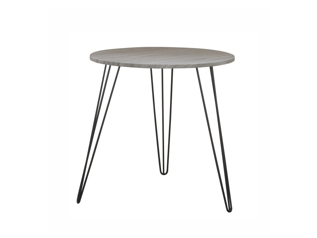 Příruční stolek s deskou v dekoru dub KALEB