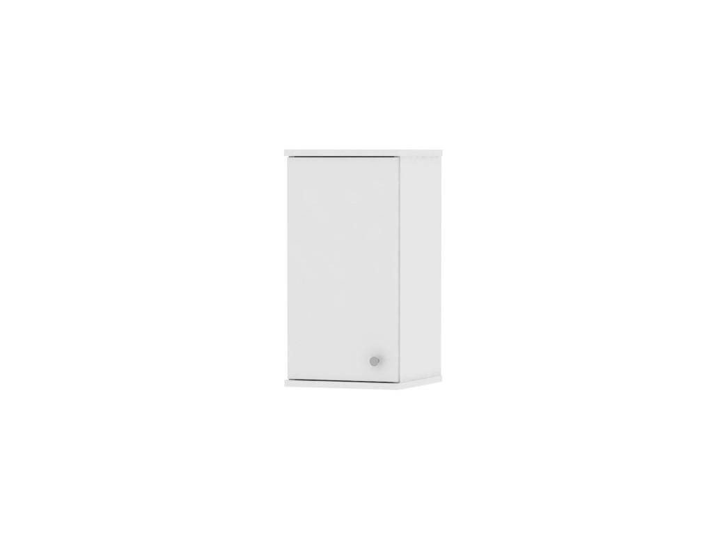 Bílá horní závěsná skříňka GALENA SI09
