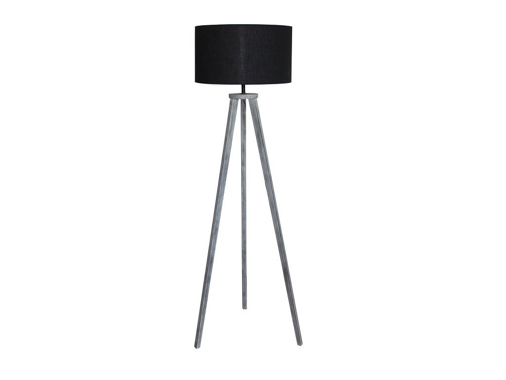 Černá stojací lampa JADE TYP 10