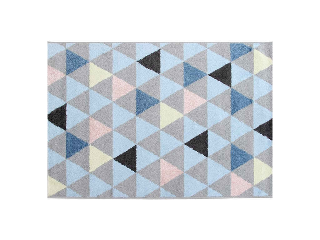 Vícebarevný koberec PETAL 160 x 235 cm