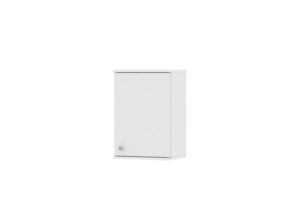 Bílá horní závěsná skříňka GALENA SI10