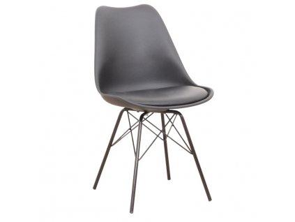 Černá židle TAMORA