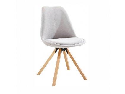Židle, šedá / buk, SABRA