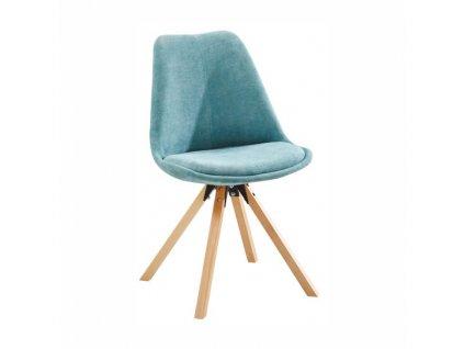 Židle, mentolová / buk, SABRA