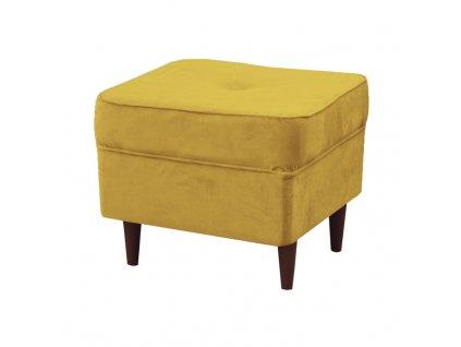 Žlutý taburet RUFINO