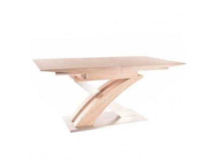 Jídelní stůl BONET v dekoru dub sonoma, rozkládací