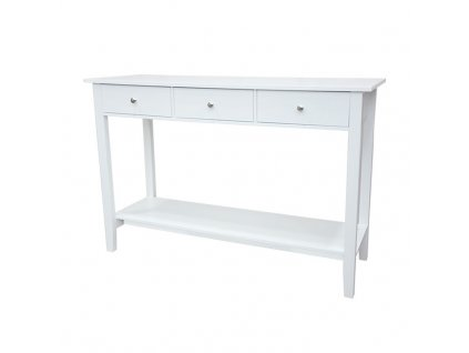 Bílý konzolový stolek REDON
