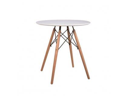 Bílý jídelní stůl GAMIN NEW 60