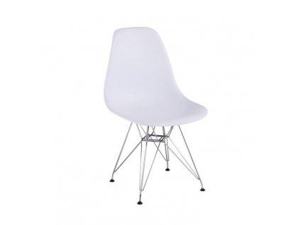 Bílá židle ANISA 2 NEW