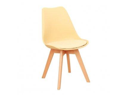 Capuccino vanilková židle BALI 2 NEW