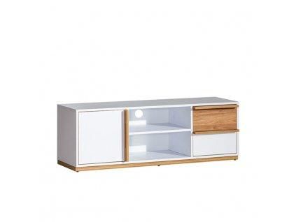 RTV stolek, ořech select / bílá, KNOX E4