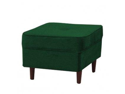 Zelený taburet RUFINO