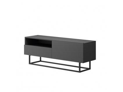 Grafitový RTV stolek bez podstavy SPRING ERTVSZ120