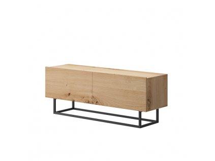 RTV stolek bez podstavy, dub artisan, SPRING ERTV120