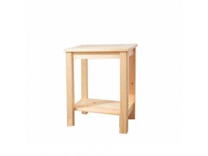 Přírodní noční stolek FOSIL