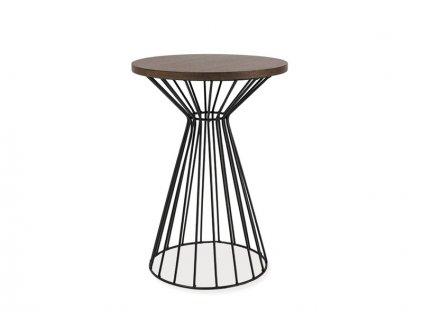 Příruční stolek s deskou v dekoru ořech ALTA II