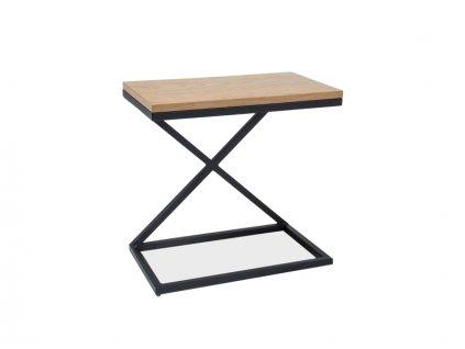 Příruční stolek s deskou v dekoru dub LIZ II 30X50