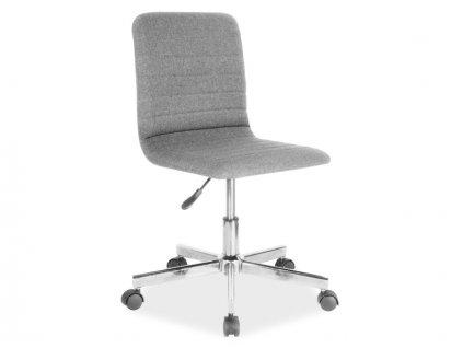 Šedá kancelářská židle Q-M1