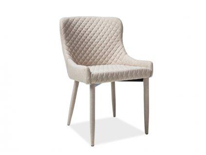 Béžová židle COLIN