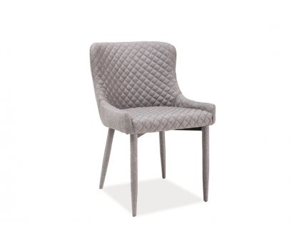 Židle, šedá, COLIN