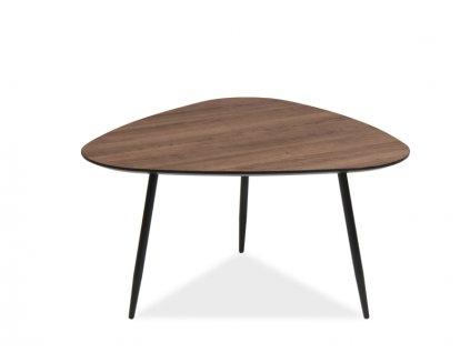 Příruční stolek, ořech / černá, ENVO C