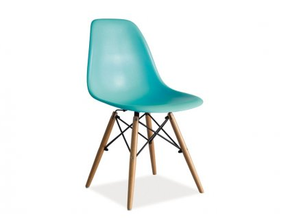 Mořská modrá židle ENZO