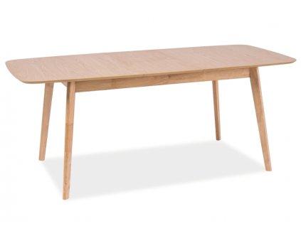 Rozkládací stůl, dub, FELICIO 120(150)X75