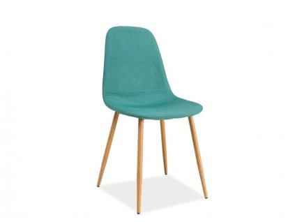 Židle FOX v mátové barvě