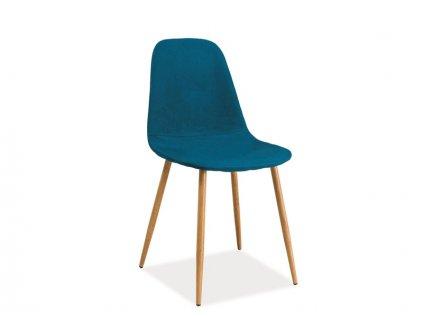 Mořsky modrá židle FOX