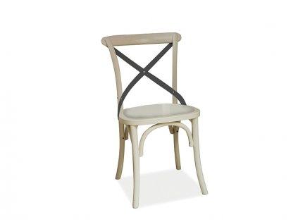 Židle, bílá, LARS II