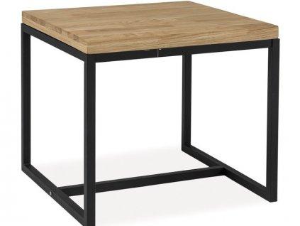 Příruční stolek s dubovou deskou LORAS C