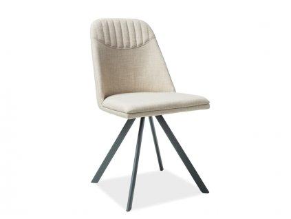 Béžová židle MILTON