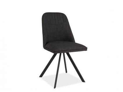 Židle, šedá, MILTON