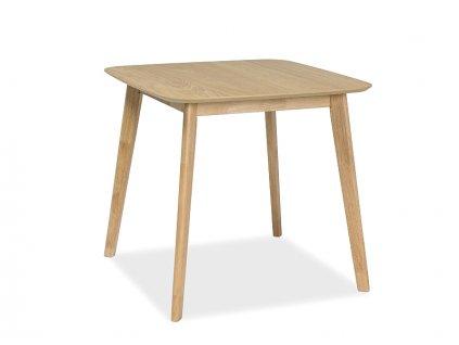 Jídelní stůl s deskou v dekoru dub MOSSO III 80x80