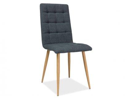 Židle, grafit / dub, OTTO