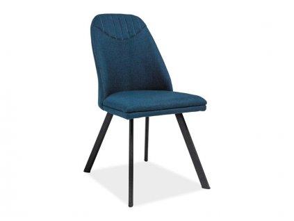 Židle, tmavě modrá / černá, PABLO