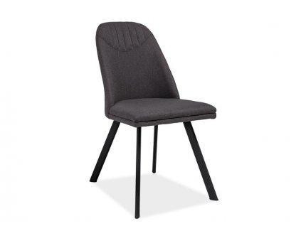 Židle, šedá / černá, PABLO