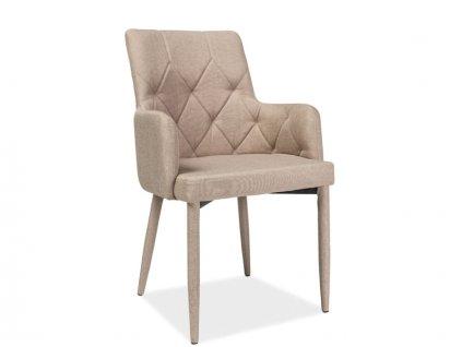 Židle, béžová, RICARDO