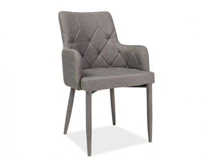 Šedá židle RICARDO